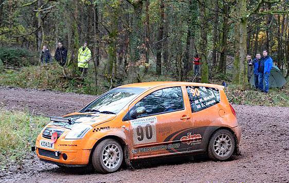 EJM Rally Car
